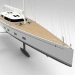 Инженеры Baltic Yachts оснастили яхту фойлом выдвижного типа